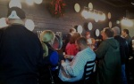 The scene at the bar at Peabody Heights Brewery.