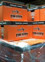 Fin City beer, an Ocean City brew, is also made at this co-operative brewery.