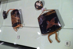 The Walters' collection has a wide range of Asian lacquered objects, including these 19th century inro.