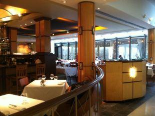 John Shield's Gertrude's Restaurant also has al fresco dining when it's warm.