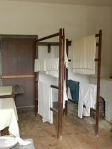 The linens are drying nearly ready for the next guests at Mount Vernon