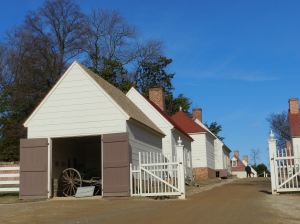 In a village of outbuildings Mount Vernon staff did all the work to keep the great house going. You can spend hours visiting them all