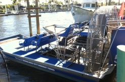 Chevy 350 engines power the Everglades airboats.