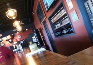 Flying Dog's tasting room is a warm spot for tasting some creative craft brews.