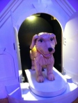 Find and push the button to meet Barbie's pup!