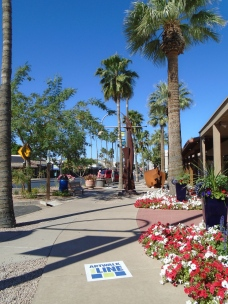 Just west of Old Town is Scottsdale's Arts District. Signs on the sidewalks and street art will guide you.