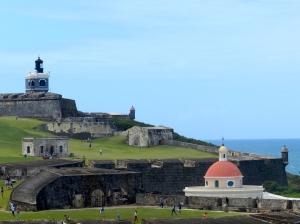 El Morro, the fortress built between 1539 and 1786 to protect San Juan.
