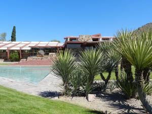 Well water still keeps Taliesin West hydrated. The well is 500 feet below the surface.