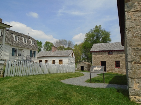 Hampton's farm, across Hampton Lane, was designed to look like a village when seen from the mansion. It was the site of the farm office, barns, the dairy and slave quarters. All are original buildings.