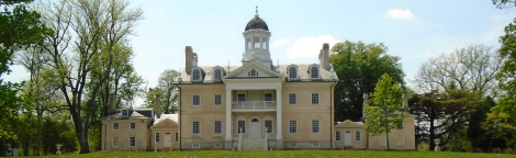 The 1790 Hampton mansion is one of the largest Georgian homes in the nation