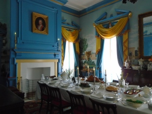 The furnishings of the mansion represent the various times and generations from the 1790s until the 20th century.
