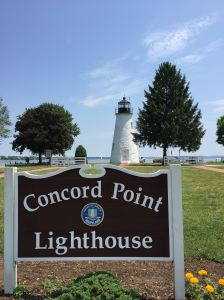 The Concord Point lighthouse marks the end of the Susquehanna River and the beginning of the Chesapeake Bay.It is the oldest continuously operating lighthouse in the United States.