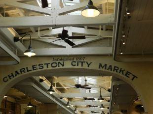 Part of Charleston's market is air-conditioned. Most is open-air. All of it is a delight for your senses.