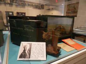 Laura Bragg, the museum's first woman director, created these traveling exhibitions to take museum pieces to area schools.