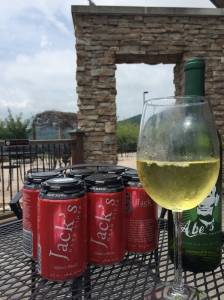 Abe's Apple Wine and Jack's Hard Cider, both produced here, are the ingredients in their cider sangria.