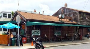 Davis Pub is tucked away on a side street away from Eastport's row of waterfront restaurants.
