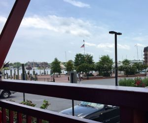 Who can resist a view of Annapolis harbor? One of Harbor Grill's strong selling points.