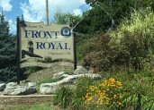 We started at the northernmost entrance to the Skyline Drive, in Front Royal, Virginia.