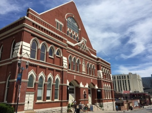 Part church, part concert hall, a visit to the Ryman just may soothe the hungry soul.