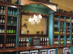 Fiesta Winery's tasting room is not only charming, it has a shop filled with pretty non-wine things attached.