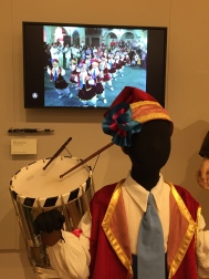 La Primera costume, drum and video of a traditional dance in Majorca, Spain on St. John the Baptist feast day.