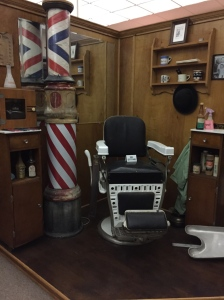 Step right on in and get yourself a haircut. Or at least a memory of the old time barber shop at the Seaford Museum.