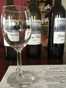 Mark Cascia Vineyards and Winery offers a wide variety of wines to taste.