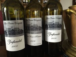The winery produces both varietals and interesting blends.