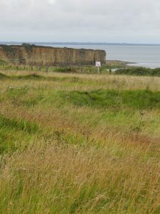 Rangers scaled the cliffs at Pointe du Hoc as D-Day got underway.