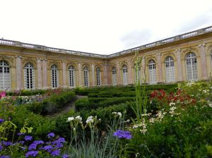 The Grand Trianon and its lovely gardens are just a short walk away from the chateau.