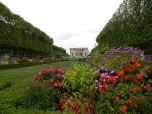 Gardens surround the Petit Trianon.