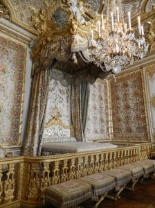 The queen of France awoke to dozens of witnesses who crowded into her room each morning. I felt like one of them.