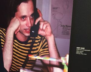 Filmmaker John Waters in his younger days was captured on film by Bobby Adams.