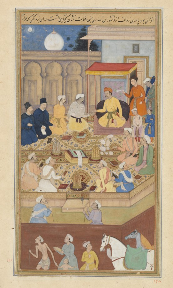 Akbar Presiding over Discussions in the Ibadatkhana