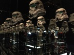 Storm trooper helmets. Lots of them.