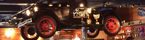 Ford's Garage takes the love of cars to a different level, a culinary one.