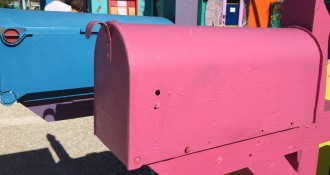 Can you put bad news in a mailbox like this?