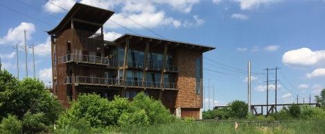 The modern DuPont Environmental Education Center overlooks the 212-acre wildlife refuge named for Delaware's Gov. Russell W. Peterson.