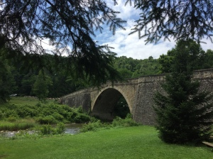 Casselman Bridge has been uniting east and west since 1813.