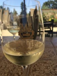 VJB in Sonoma has a welcoming tasting room and a patio for enjoying it.