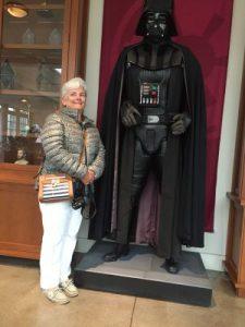 Darth Vader is big, really big.