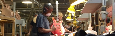 The magicians at Paul Reed Smith Guitars on Kent Island turn slabs of wood into works of art — that sound good, too