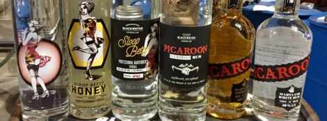 Vodka is the main attraction of Blackwater Distillery in Kent Island on Maryland's Eastern Shore.