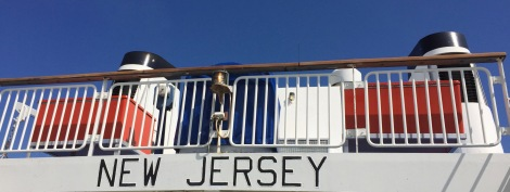 Welcome aboard the New Jersey! Sit back and enjoy the 90-minute cruise to Cape May.