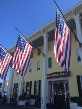 The Congress Hall Hotel is marking its bicentennial this year.