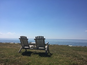 The Inn at Black Walnut Point offers views of the Chesapeake Bay.