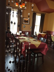 Rustico Restaurant and Wine Bar is located on the site of an old market.