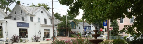 Stevensville's historic district was placed on the National Register in 1986.