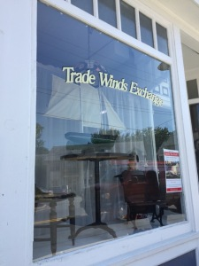 Trade Winds Exchange is one of a handful of shops offering interesting wares for those visitors who like to go out of their way to shop.